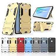 お買い得  携帯電話ケース-ケース 用途 Vivo V7+ スタンド付き バックカバー ソリッド ハード PC のために vivo V7+