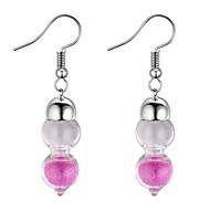 cheap -Women's Long Dangle Earrings - Vintage, Ethnic, Fashion Gold / White / Pink For Party / Evening / Prom