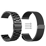 Недорогие Часы для Samsung-Ремешок для часов для Gear Sport / Gear S2 Classic Samsung Galaxy Миланский ремешок Нержавеющая сталь Повязка на запястье