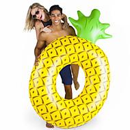 abordables Deportes Acuáticos-Piña Colchonetas inflables para piscina PVC Duradero, Inflable Natación / Deportes acuáticos para Adultos 182*116*36 cm