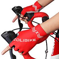 お買い得  -ZOLI ショートフィンガー 男女兼用 オートバイグローブ 布 高通気性 / ノンスリップ
