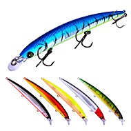 お買い得  釣り用アクセサリー-6 pcs ルアー ハードベイト プラスチック 屋外 ベイトキャスティング / ルアー釣り / 一般的な釣り