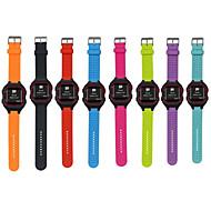 Недорогие Аксессуары для смарт-часов-Ремешок для часов для Garmin Forerunner 25 Suunto Спортивный ремешок силиконовый Повязка на запястье