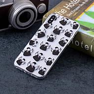 Недорогие Кейсы для iPhone 8-Кейс для Назначение Apple iPhone X / iPhone 8 Plus IMD / С узором Кейс на заднюю панель Животное Мягкий ТПУ для iPhone X / iPhone 8 Pluss / iPhone 8