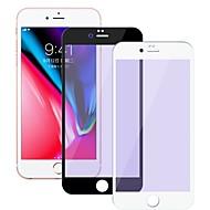 Недорогие Защитные плёнки для экранов iPhone 8 Plus-Защитная плёнка для экрана для Apple iPhone 8 Pluss Закаленное стекло 1 ед. Защитная пленка для экрана Уровень защиты 9H / 2.5D закругленные углы / Взрывозащищенный