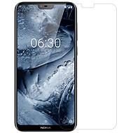 お買い得  スクリーンプロテクター-スクリーンプロテクター のために Nokia Nokia X6 PET 1枚 フロント&カメラレンズプロテクター 超薄型 / マット / 傷防止