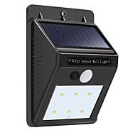 お買い得  LED ソーラーライト-1セット 3 W LEDフラッドライト ソーラーパワー ナチュラルホワイト <5 V 6 LEDビーズ