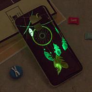 Недорогие Чехлы и кейсы для Galaxy J5(2016)-Кейс для Назначение SSamsung Galaxy iPhone X / iPhone 8 Plus / J6 Сияние в темноте / IMD / С узором Кейс на заднюю панель Ловец снов Мягкий ТПУ для J8 / J7 (2017) / J7 (2016)