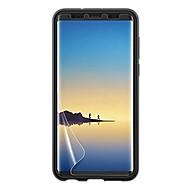 Недорогие Чехлы и кейсы для Galaxy Note-Защитная плёнка для экрана для Samsung Galaxy Note 8 PET 1 ед. Защитная пленка для экрана HD / Защита от царапин / Против отпечатков пальцев