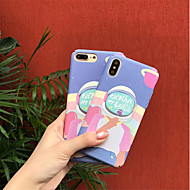 cheap -Case For Apple iPhone X / iPhone 6 Pattern Back Cover Cartoon Hard PC for iPhone X / iPhone 8 Plus / iPhone 8