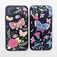 Недорогие Кейсы для iPhone 8-Кейс для Назначение Apple iPhone X / iPhone 8 С узором Кейс на заднюю панель Фламинго Мягкий ТПУ для iPhone X / iPhone 8 Pluss / iPhone 8