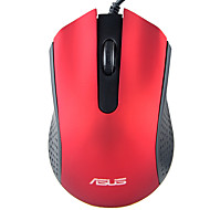 お買い得  マウス-ASUS 有線USB オフィスマウス / 人間工学に基づいたマウス 光学 AE-01 3 pcs キー 1000 dpi