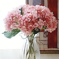 abordables Flores Artificiales-Flores Artificiales 1 Rama Clásico Moderno / Contemporáneo Hortensias Flor de Mesa