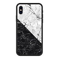Недорогие Кейсы для iPhone 8 Plus-Кейс для Назначение Apple iPhone X / iPhone 8 Plus С узором Кейс на заднюю панель Мрамор Твердый Акрил для iPhone X / iPhone 8 Pluss / iPhone 8