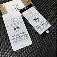 Недорогие Защитные плёнки для экранов iPhone 8 Plus-Защитная плёнка для экрана для Apple iPhone 8 Pluss / iPhone 7 Plus Закаленное стекло 1 ед. Защитная пленка для экрана HD / Уровень защиты 9H / 3D закругленные углы