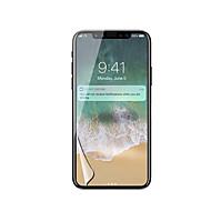 Недорогие Защитные плёнки для экрана iPhone-Защитная плёнка для экрана для Apple iPhone X PET 1 ед. Защитная пленка для экрана HD / Ультратонкий