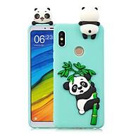 お買い得  携帯電話ケース-ケース 用途 Xiaomi Mi 6X / Mi 5X DIY バックカバー パンダ ソフト TPU のために Redmi Note 5A / Redmi 5A / Xiaomi Redmi 4X