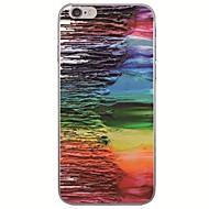 Недорогие Кейсы для iPhone 8-Кейс для Назначение Apple iPhone X / iPhone 8 Ультратонкий / С узором Кейс на заднюю панель Масляный рисунок Мягкий ТПУ для iPhone X / iPhone 8 Pluss / iPhone 8