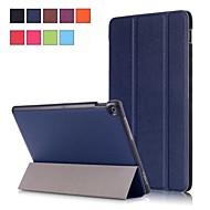 preiswerte Handyhüllen-Hülle Für Asus ZenPad 10 Z301MFL / ZenPad 10 Z300CL mit Halterung / Magnetisch Ganzkörper-Gehäuse Solide Hart PU-Leder für ASUS ZenPad 10 Z301ML / ASUS ZenPad 10 Z301MFL / ASUS ZenPad 10 Z301MF