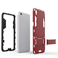 お買い得  携帯電話ケース-ケース 用途 OPPO R9s Plus / R9s スタンド付き バックカバー ソリッド ハード PC のために OPPO R9s Plus / OPPO R9s / OPPO R9 Plus