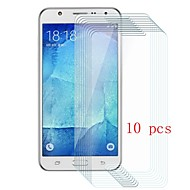 お買い得  Samsung 用スクリーンプロテクター-スクリーンプロテクター のために Samsung Galaxy J5 強化ガラス 10枚 スクリーンプロテクター 硬度9H / 傷防止