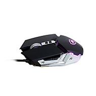 preiswerte Mäuse-AJAZZ Wired USB Gaming Mouse / Ergonomische Maus Optisch aj110s 6 pcs Schlüssel Led Atemlicht 4 einstellbare DPI-Stufen 6 programmierbare Tasten 800/1200/2400/3200 dpi