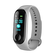 cheap -KUPENG M3C Smart Bracelet Smartwatch Android iOS Bluetooth Sports Waterproof Heart Rate Monitor Blood Pressure Measurement Pedometer Call Reminder Activity Tracker Sleep Tracker Sedentary Reminder