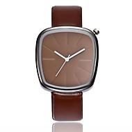 abordables Relojes Formales-Hombre / Mujer Reloj de Vestir / Reloj de Pulsera Chino Nuevo diseño / Reloj Casual PU Banda Casual / Moda Negro / Marrón