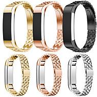 Недорогие Аксессуары для смарт-часов-Ремешок для часов для Fitbit Alta HR / Fitbit Alta Fitbit Спортивный ремешок Нержавеющая сталь / Керамика Повязка на запястье