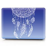 "billige -MacBook Etui Blomst / Farvegradient PVC for MacBook Pro 13-tommer / MacBook Pro 15"" med Retina display / New MacBook Air 13"" 2018"