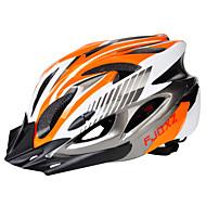 baratos Acessórios para Ciclismo-Adulto Capacete de bicicleta 18 Aberturas ESP+PC Esportes Ciclismo / Moto / Moto - Preto / Vermelho / Black / azul / Prata + Orange Unisexo