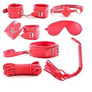 abordables Accesorios para Hogar y Mascotas-Decoraciones de vacaciones día de San Valentín ornamentos de Navidad Fiesta / Cool Negro / Rojo / Rosa 7pcs