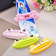 お買い得  浴室用小物-歯ブラシホルダー 愛らしいです / 多機能 コンテンポラリー / 近代の プラスチック+ PCB +耐水エポキシカバー 1個 - 浴室 歯ブラシ&アクセサリー 床取付け