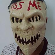 abordables Decoraciones de Celebraciones y Fiestas-Decoraciones de vacaciones Decoraciones de Halloween Máscaras de Halloween Fiesta / Decorativa / Cool Amarillo Claro 1pc