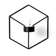 Estilo simples Ferro Suporte de Vela Castiçal 1pç, Candle / Candle Holder