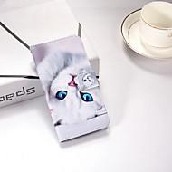 preiswerte iPhone 8 Hüllen-Hülle Für Apple iPhone X / iPhone 8 Plus / iPhone XS Geldbeutel / mit Halterung / Flipbare Hülle Ganzkörper-Gehäuse Katze Hart PU-Leder für iPhone XS / iPhone XR / iPhone XS Max