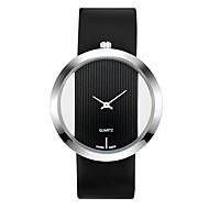 cheap -Women's Dress Watch / Wrist Watch Chinese Chronograph / Hollow Engraving / Creative PU Band Fashion / Minimalist Black / White / Red