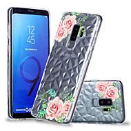 Недорогие Чехлы и кейсы для Galaxy S9 Plus-Кейс для Назначение SSamsung Galaxy S9 Plus / S9 С узором Кейс на заднюю панель Цветы Мягкий ТПУ для S9 / S9 Plus / S8 Plus