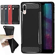 preiswerte Handyhüllen-Hülle Für Xiaomi Redmi S2 / Mi 8 Stoßresistent / Mattiert Rückseite Solide / Linien / Wellen Weich TPU für Redmi Note 5A / Xiaomi Redmi Note 5 Pro / Xiaomi Redmi Note 4X