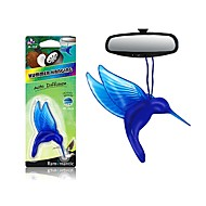 cheap Car Air Purifiers-Rammantic Car Air Purifiers Common / Decoration Car perfume Plastic / Oil Remove unusual odor / Aromatic function