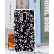Недорогие Чехлы и кейсы для Galaxy A5(2017)-Кейс для Назначение SSamsung Galaxy A6+ (2018) / A6 (2018) Прозрачный / С узором Кейс на заднюю панель Черепа Мягкий ТПУ для A6 (2018) / A6+ (2018) / A3 (2017)