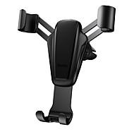 billige Universal mobiltilbehør-Bil Monter stativholder Air Outlet Grill Buckle Type / Gravity Type Silikone / Metal / ABS Holder