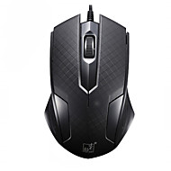 お買い得  マウス-Factory OEM 有線USB ゲーミングマウス / オフィスマウス キー LEDライト 3調整可能なDPIレベル 3つのプログラム可能なキー 1200 dpi