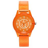 cheap -Women's Wrist Watch Chinese Casual Watch Plastic Band Fashion / Minimalist Black / White / Red