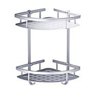 abordables Gadgets de Baño-Estantería de Baño Nuevo diseño / Cool Moderno Aluminio 1pc Colocado en la Pared