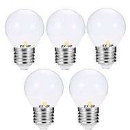 お買い得  -EXUP® 5個 5 W 400-450 lm E14 / E26 / E27 LEDボール型電球 G45 12 LEDビーズ SMD 2835 温白色 / クールホワイト 110-130 V