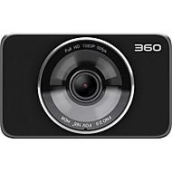 Недорогие Видеорегистраторы для авто-360 J511 1080p ночного видения Автомобильный видеорегистратор 165 градусов широкоугольный 3-дюймовый TFT LCD-видеорегистратор с Wi-Fi / G