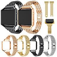 Недорогие Аксессуары для смарт-часов-Ремешок для часов для Fitbit Blaze Fitbit Спортивный ремешок Нержавеющая сталь / Керамика Повязка на запястье