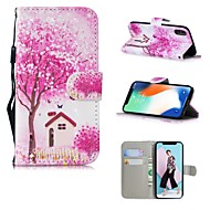 cheap -Case For Apple iPhone XS / iPhone XS Max Pattern Full Body Cases Tree Hard PU Leather for iPhone XS / iPhone XR / iPhone XS Max