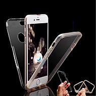 Etui Käyttötarkoitus Apple iPhone X / iPhone 8 Läpinäkyvä Suojakuori Yhtenäinen Kova TPU varten iPhone X / iPhone 8 Plus / iPhone 8